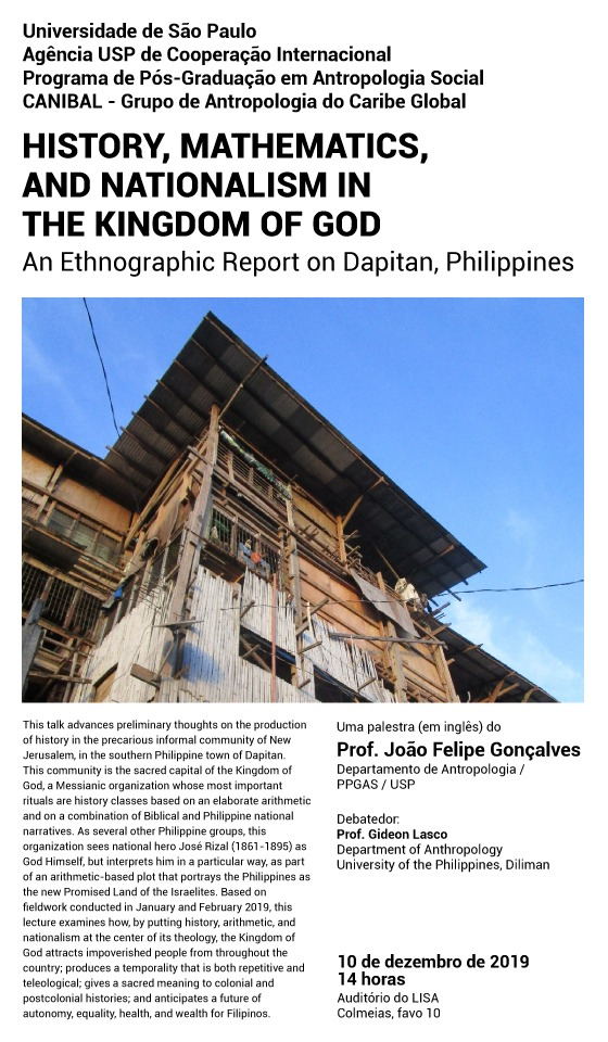 History, Mathematics and Nationalism in the kingdom of God - An Ethnographic Report on Dapitan, Philippines